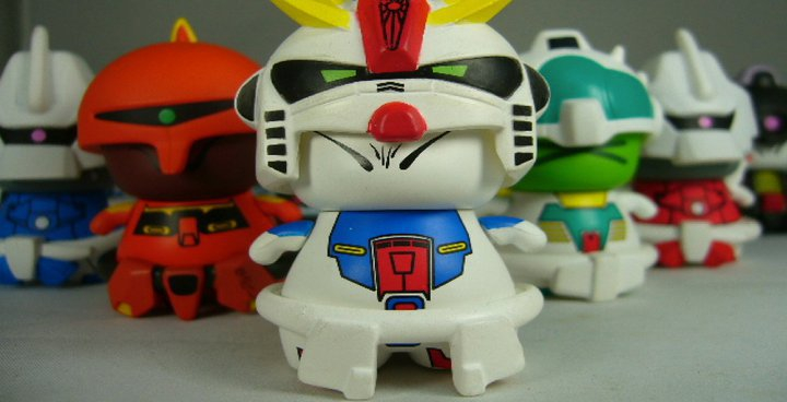 Gundam ZZ Figure